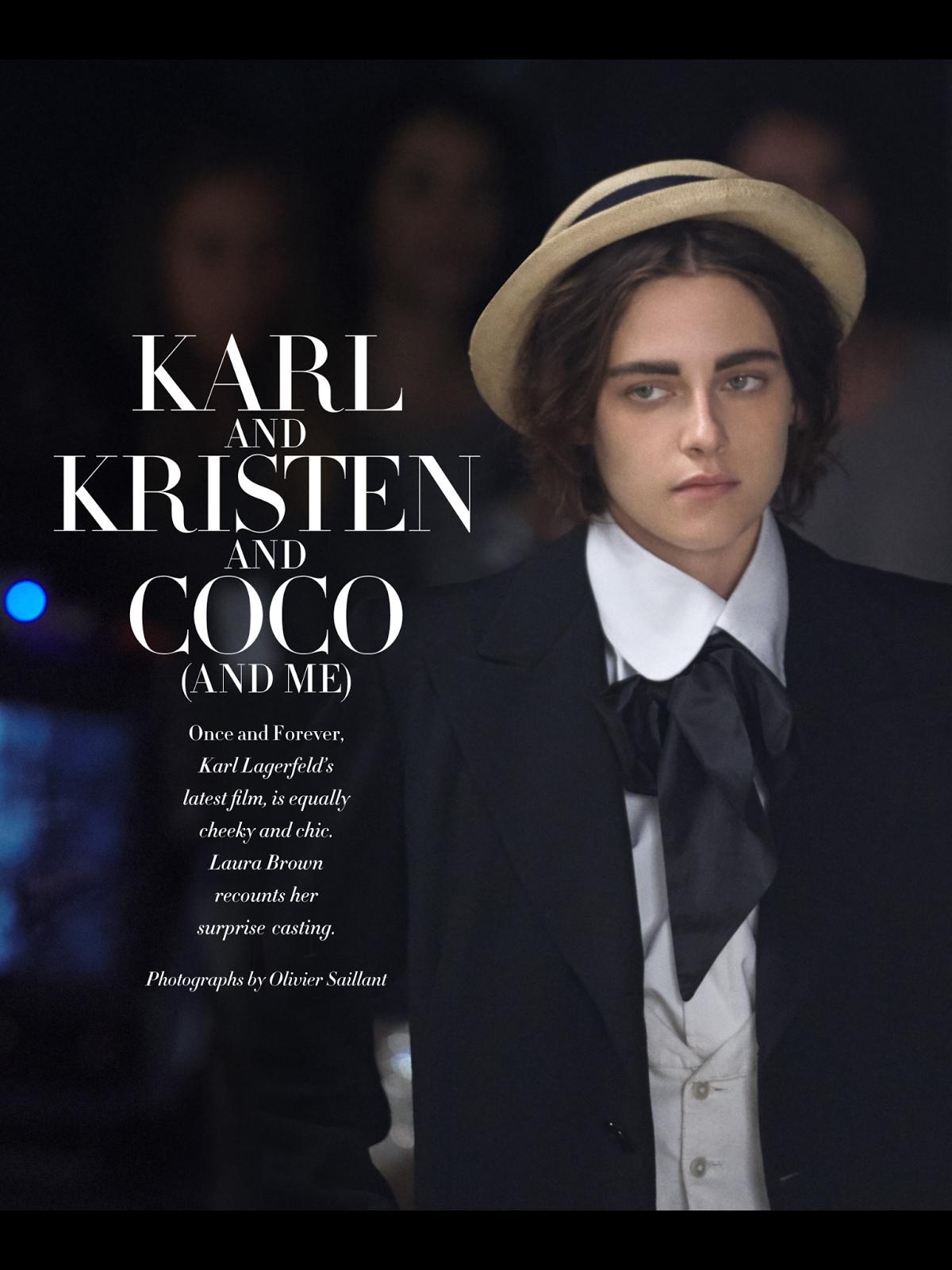 Kristen Stewart Once & Forever Chanel Harper's Bazaar Scan 1